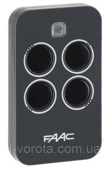 FAAC XT4 433 RC 4-х канальный пульт для шлагбаумов и ворот