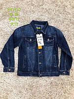 Джинсова куртка-піджак для хлопчиків S&D 6-16 років