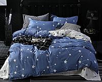 Двуспальный комплект из сатина Небула Космос созвездие