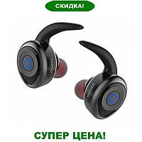 Беспроводные наушники Awei T1 Twins, стереогарнитура Bluetooth, Водонепроницаемые, Черные