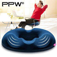 Противогеморройная подушка PPW ортопедическая с эффектом памяти мужская