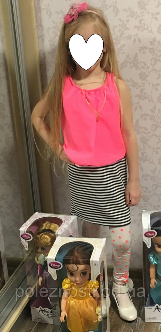 Б/У Стильное платье для девочки (размер на 6 лет)