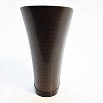 Каблук женский пластиковый 9518 коричневый Сталекс р.3-1  h-9,2-8,5 см., фото 2