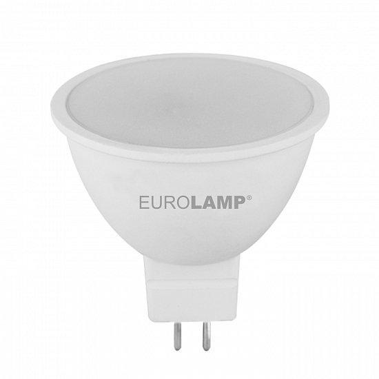 "LED Лампа Eurolamp ECO серия ""P"" MR16 5W GU5.3 3000K 12V"