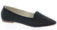 Стильные Женские балетки, лодочки туфли , туфли, на плоской подошве от производителя  черного цвета!