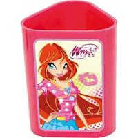 Стакан для ручек светло-розовый Винкс