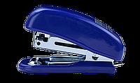 Степлер пластиковый мини Buromax Jobmax 10 листов скобы № 10 синий