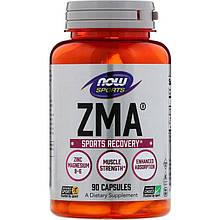 "Цинк, магний и витамин В6 NOW Foods, Sports ""ZMA"" спортивное восстановление (90 капсул)"