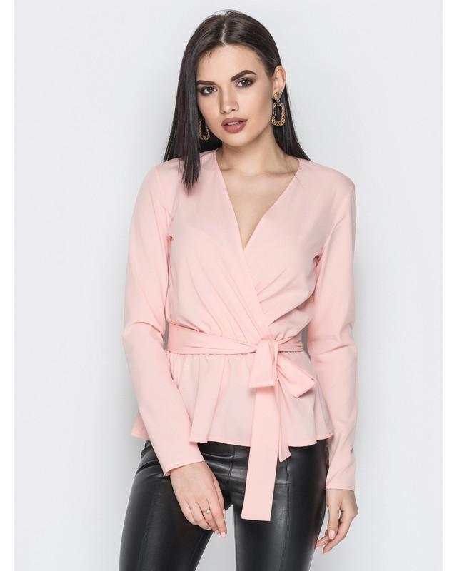 женская блузка на запах  оптом Arut оптовый интернет магазин женской одежды арут