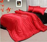 Лоскут сатина цвет красный №1325, фото 4