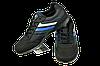 Мужские кроссовки прогулочные bona 494дп черные   весенние