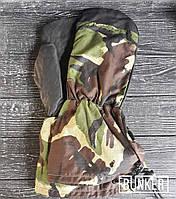 Оригинальные армейские рукавицы кожа в расцветке DPM, фото 1