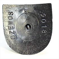 Каблук женский пластиковый 9018 шевос  р.3  h-9,8см., фото 3