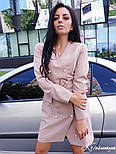 Женское платье-пиджак с поясом (2 цвета), фото 2