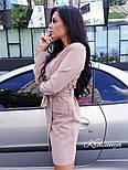 Женское платье-пиджак с поясом (2 цвета), фото 4
