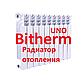 Радиатор Биметаллический Bitherm Uno 500х80, фото 5
