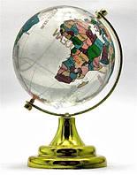Глобус настольный большой цветной -  символ стремления к знаниям и активизации удачи.