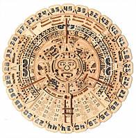 Конструктор деревянный Календарь Майя. Wood trick пазл. 100% Гарантия качества (Опт,дропшиппинг)