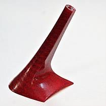 Каблук женский пластиковый 9017 красный шевос  р.1-3  h-8,8-9,6см., фото 3