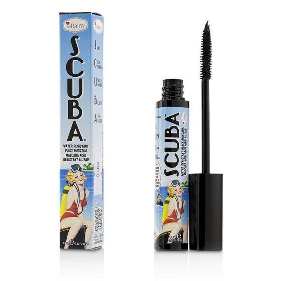 Тушь для ресниц водостойкая Scuba Water Resistant Black Mascara The Balm