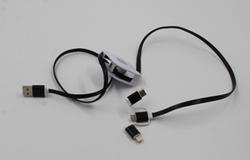 Шнур для мобильного  pull push 3in1 (Кабель «улитка».)