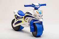 Велобіг Police, біло/синій