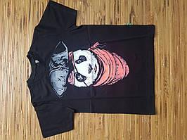 Оригинальная подростковая футболка с пандой