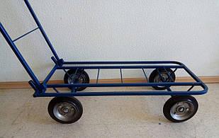 Тележка грузовая четерехколесная складная (700х400мм) ЧТ-200-К17