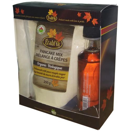 Подарочный набор Erabl'Or (кленовый сироп+ смесь для панкейков)