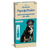 "Капли на холку""Профілайн"" для собак 20кг-40кг 1уп.(4 пипетки*3,0мл) (инсектоакарицид)"