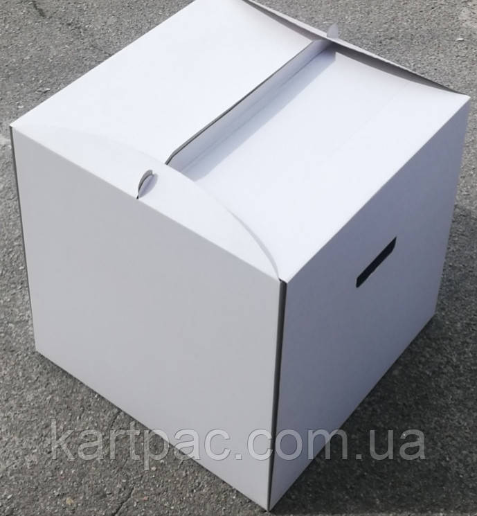 Тортовая упаковка квадратна 450х450х450