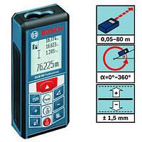 Лазерний далекомір Bosch GLM80 80 метрів вимірювач відстані, фото 3