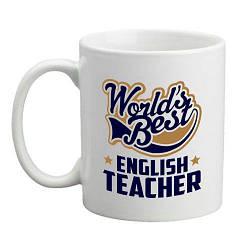Кружка World's Best English Teacher (белая)