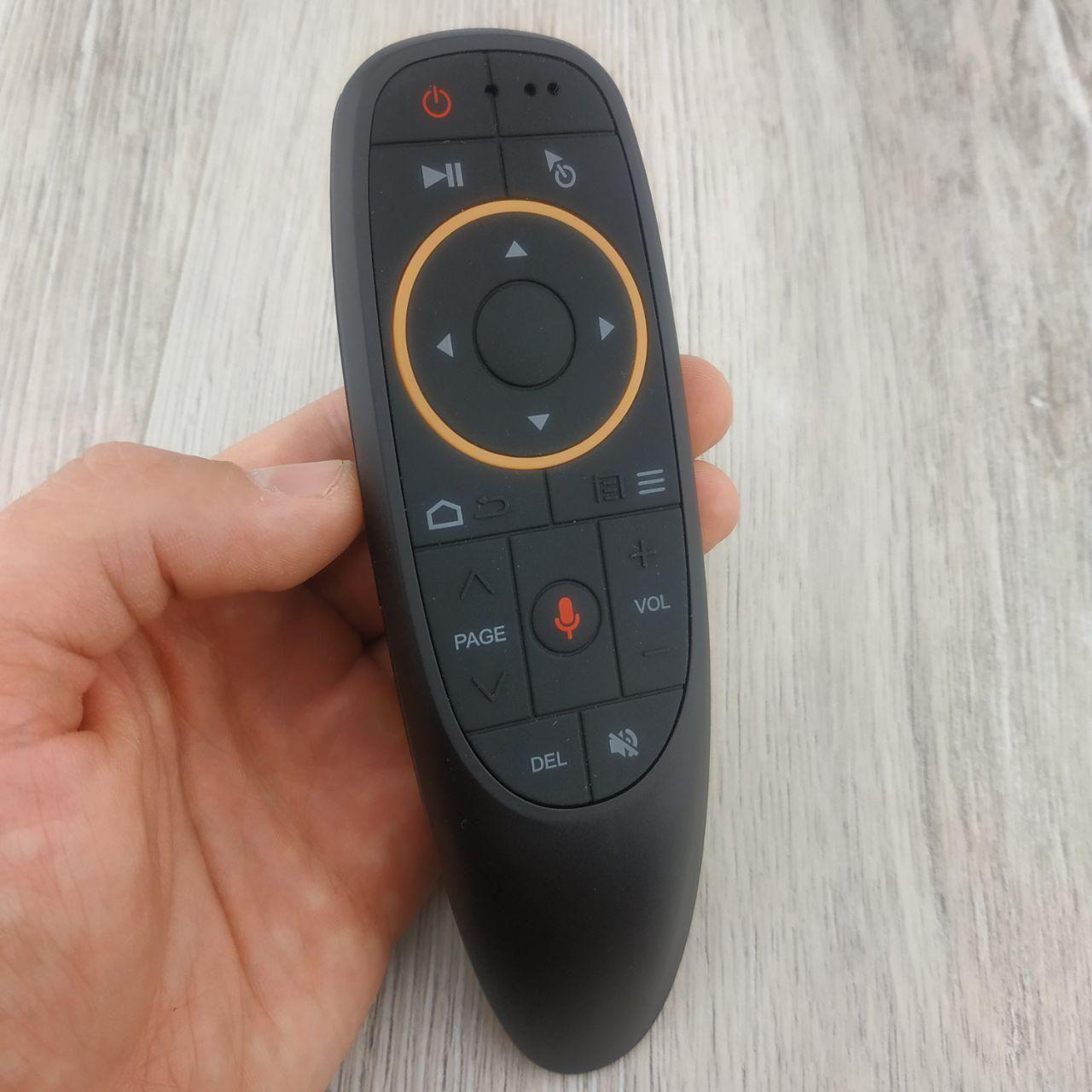 Пульт Аэромышь Air mouse G10S USB 2.4Ghz с голосовым управлением беспроводная указка