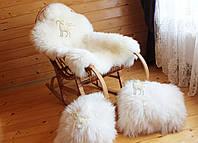 Шкура овечья белая большая, фото 1