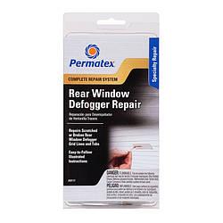 Набор для ремонта обогрева заднего стекла Клей Permatex Complete Rear Window Defogger Repair Kit (09117)