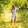 Платье с орнаментом - Мальва, фото 3