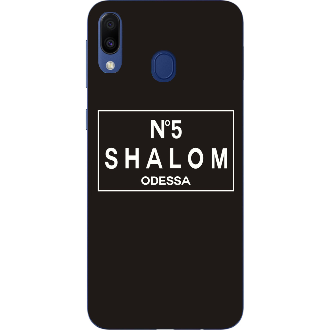 Антибрендовый силіконовий чохол для Samsung Galaxy A20 2019 A205F з картинкою Shalom №5 Odessa
