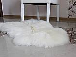 Шкура овечья, белая 120х80, фото 3