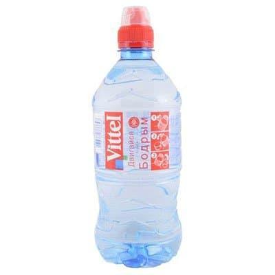 Вода Vittel (Витель), 0,75 литра