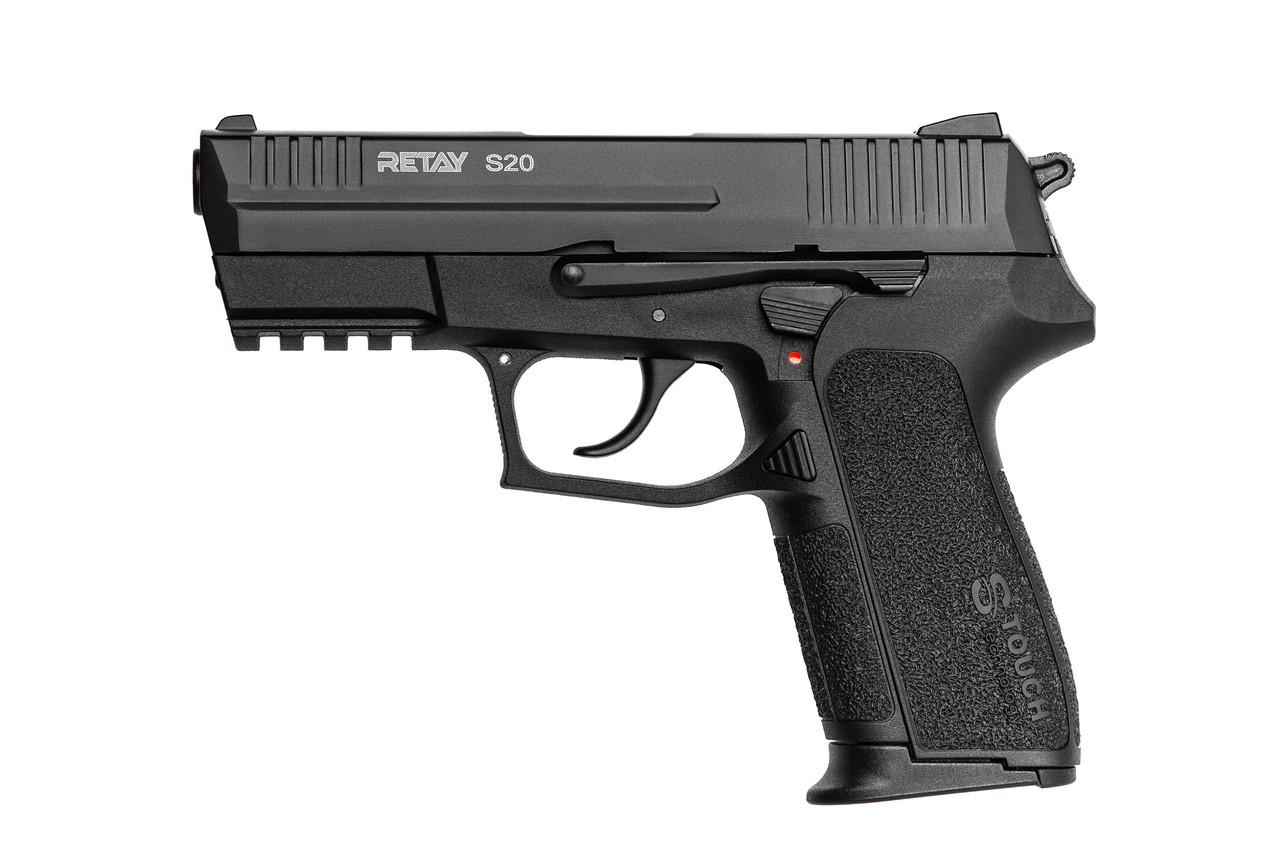 Пистолет стартовый Retay S20 Цвет - black   S530104B