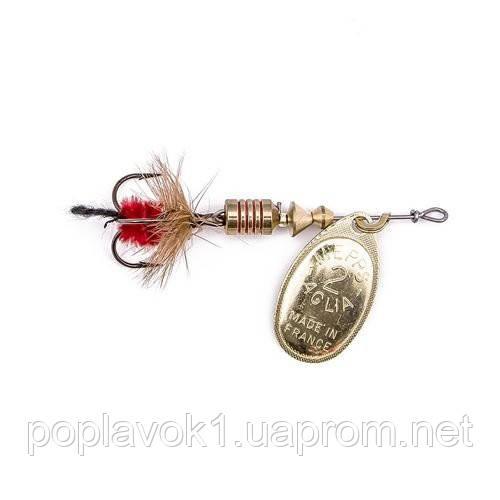Блесна Mepps Aglia Mouche (золотая) (0/2.5г)
