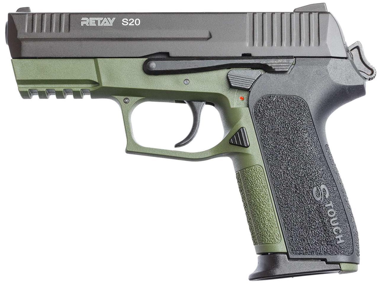 Пистолет стартовый Retay S20 Цвет - olive   S530106G