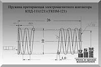Изготовление пружин. Пружина притирающая ТКПМ-121