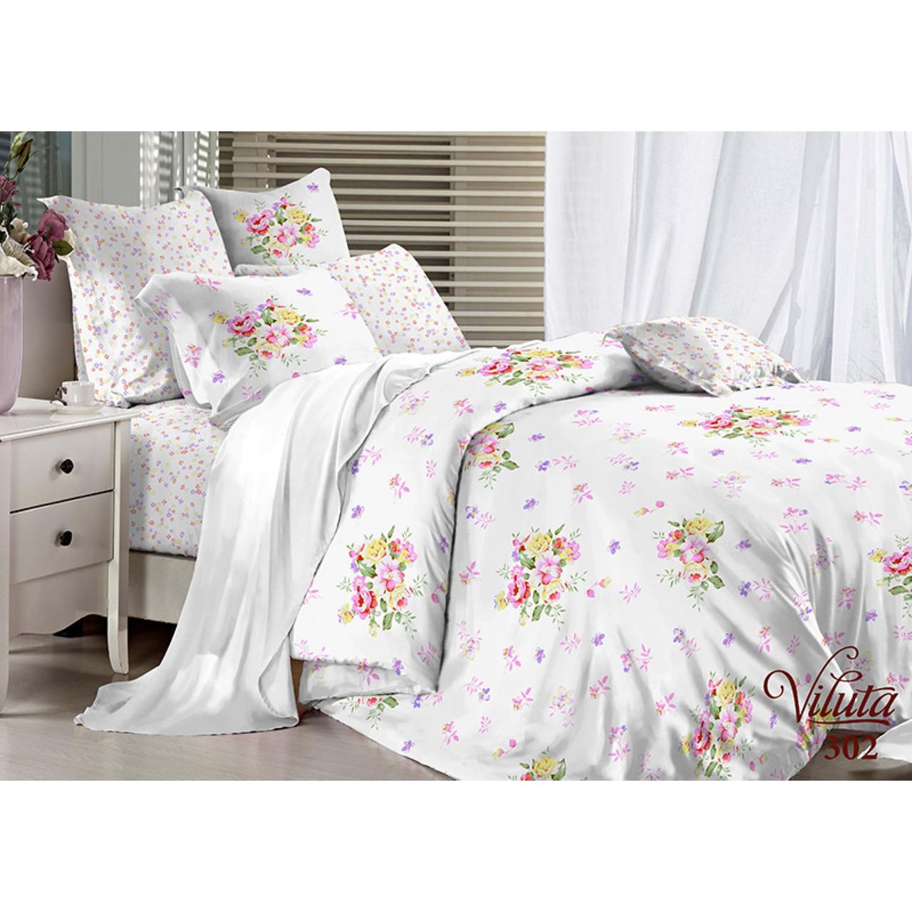 Комплект постельного белья Viluta сатин 302