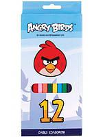 "Цветные карандаши ""Angry Birds""  12 цветов AB03101"