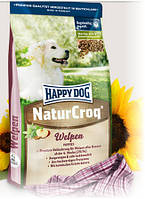 Happy Dog Хеппи Дог корм NaturCroq Welpen для щенков всех пород 15 кг