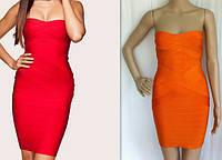 Бандажное платье Herve Leger, 9 цветов, фото 1