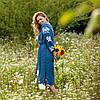 Платья из льна Красочные цветы, фото 4