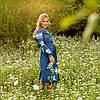Платья из льна Красочные цветы, фото 7